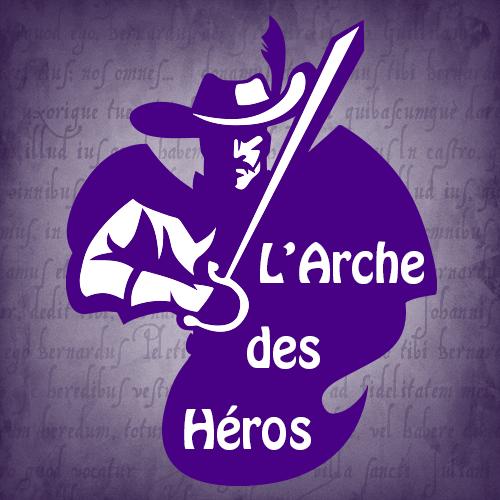 Logo de la librairie L'Arche des Héros