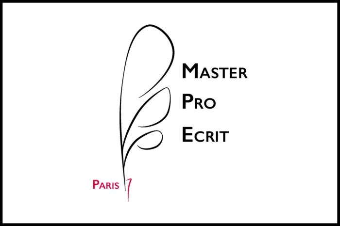 Master Logo Master Pro de l'écrit réalisé sur Illustrator par Chloé Andrianrisoa